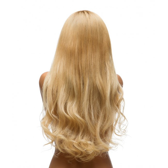 Blonde Human Hair Long