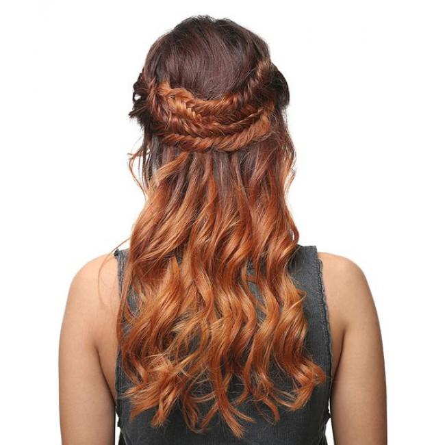 Golden Brown Hair Style