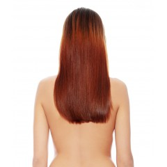 Long Hair Golden Brown Wig